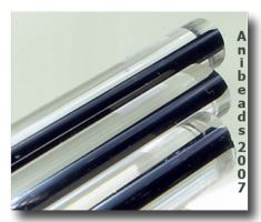 Moretti 204 klar/Schwarz 5-6mm 33cm
