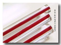 Moretti 224 klar/Rot 5-6mm 33cm
