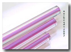 Moretti 212 klar/Pink 5-6mm 33cm
