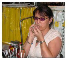 Glasbläserpfeiffe zum Erstellen von Hohlperlen und kl. Gefäse