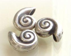 Schnecke  ca.15x12 mm  Hill Tribe 950 Sterling Silber