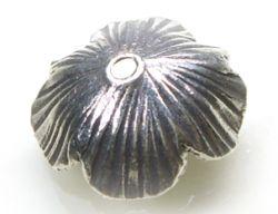 Perlkappe Hill Tribe 15x7,5mm 925 Sterling Silber