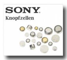 Sony Knopfzelle 377 Uhrenbatterie