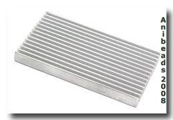 Aluminum Marbelplatte Zweiseitig 10,2 x 5,6 x 1,0 cm