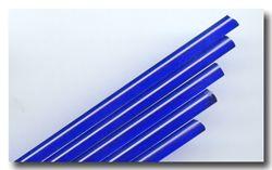 Lauscha Stringers blau Cobald transparent