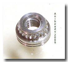Edelstahlensatz 2,5mm Gewindemutter rostfrei