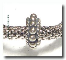 Bead für European Style Jewelry 3 x 8 x 8 mm Kanal 4mm
