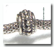 Bead für European Style Jewelry 5 x8.5  mm Kanal 4mm