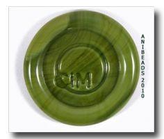 Messy Color Olive CiM ca. 33cm ab 5mm 104AK