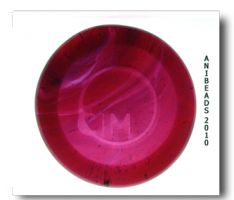 Messy Color Cranberry Pink  CiM ca. 33cm 4-5mm104AK