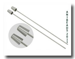 Thimble Mandrels large 17mm - 13mm Durchmesser