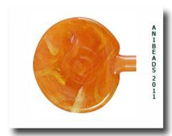 Vetrofond /Murano Apricot Jam ODD Special Glass Rods 33cm 5-6mm