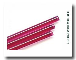 Effetre Gold Pink Premium Special Glass  Rods 33cm 5-6mm