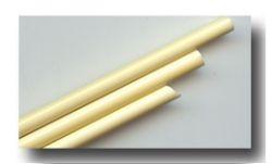 handgezogene Glasstäbe:  Gelb opal ca. 33cm 5-6mm