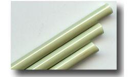 handgezogene Glasstäbe:  Kupfer Grün