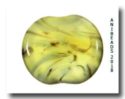 791992-FUN Vetrofond Yellow banana  ODD Special Glass Rods 33cm