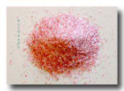 Farbglas Granulat: Goldrubin extra /10gr