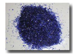 Farbglas Granulat: Hyazinith /10gr
