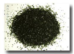 Farbglas Granulat: Aventurin grün /10gr