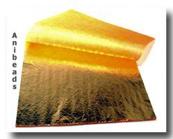Blattgold 22 Karat 10 Blatt