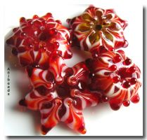 Perlendorne aus rostfreiem Edelstahl 4mm,5mm, 6mm,