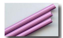 handgezogene Glasstäbe: rosa fuxia /EDP - Extra Dense Pink 100gr.