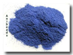 Thompson Enamel: - Emailpulver Brilliant Blue Opaque 10gr