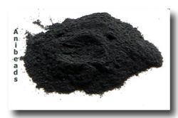 Thompson Enamel: - Emailpulver Midnight Black opaque   10gr
