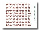 Gold-Decals 22 Karat   Dekor Schmetterlinge