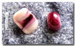 Colored glass granulates:  fuchsia /10gr