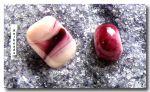 Farbglas Granulat: Fuchsia