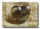 Farbglas Granulat:  Iris Gelb /